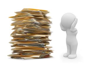 #declaraciones en papel