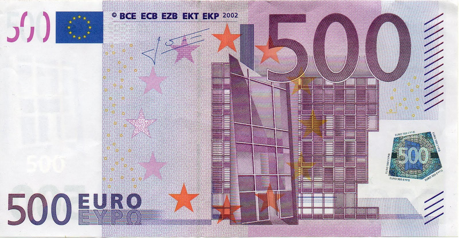 Billetes de 500 euros sigue la tonter a for Ecksofa 500 euro
