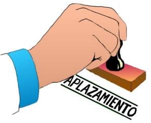 #aplazamientos