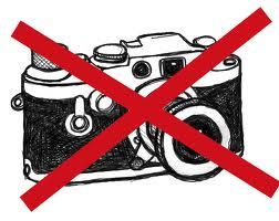 #prohibido hacer fotos