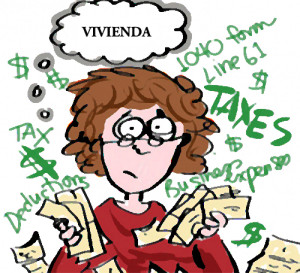 #impuestos que gravan la vivienda