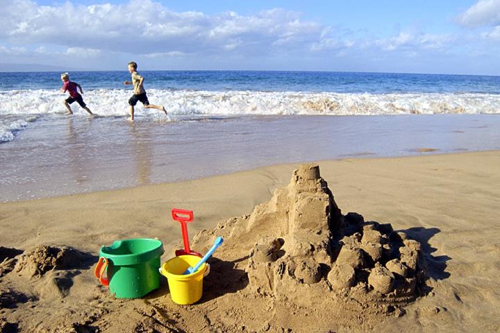 #castillos de arena