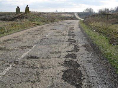 #mal estado de las carreteras