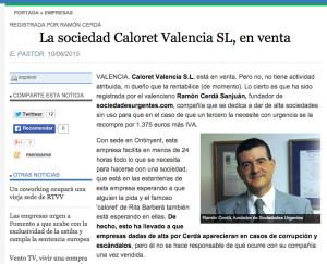 #caloret valencia