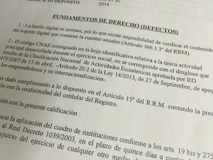 #defectos registrales