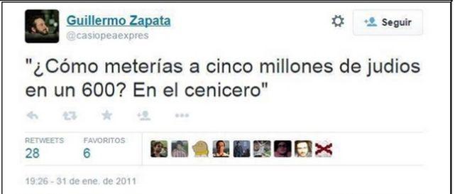 #tuits ofensivos
