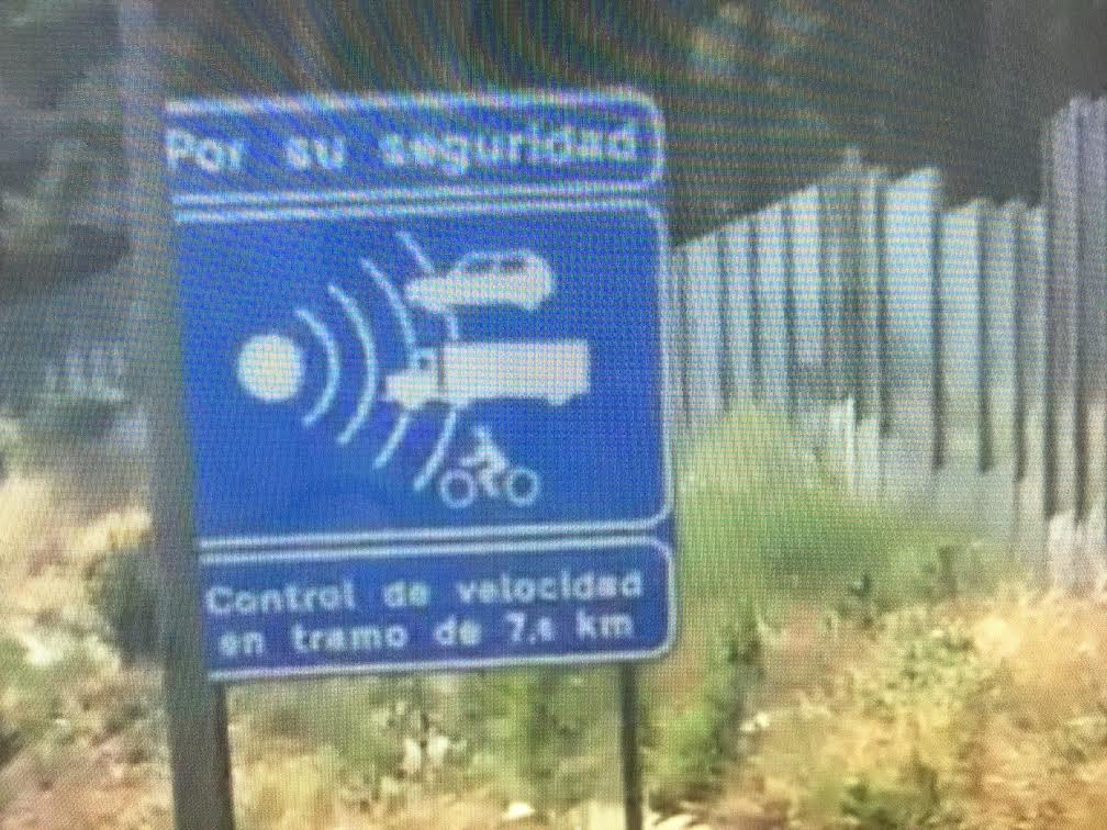 #radares de tramo
