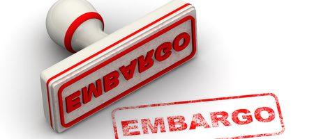 #embargos