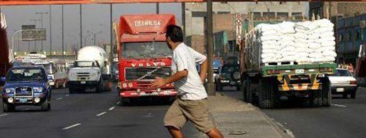 #Sanciones para los peatones